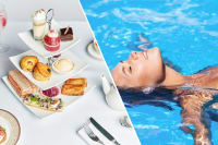 afternoon tea and spa