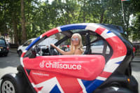 Twizy Tour London CHILLISAUCE