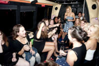 Hens on a Party Bus, Budapest