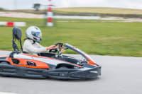 Group racing on a go kart track
