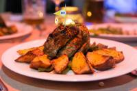 Riga Hotel XDream Food Steak Meal Restaurant