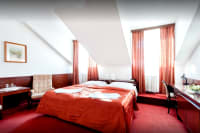 Hotel Slavia - bedroom