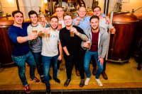Brewery, Beer Tasting, Budapest, Chillisauce staff