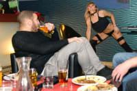 Steak Dinner and Strip Show