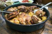 Traditional Croatian Meal, Peka Dish, 2 Course Meal