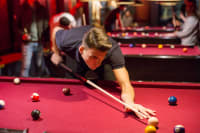 Snooker Pool stag playing