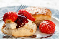 A plate of delicious looking scones