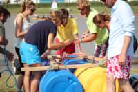 Raft Building & Racing