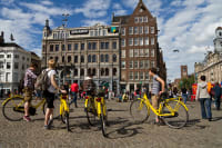 A cycle tour in Amsterdam