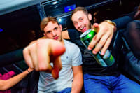 budapest party bus limousine stag