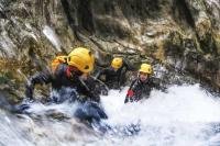 Canyoning activity