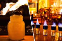 Zombie, Flamin' Moe & Rum Drinks Package Split