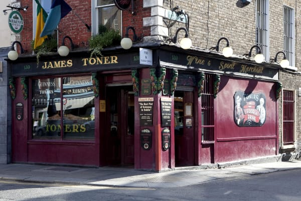 Dublin pub stop one - Toners - Best pub crawl in Dublin