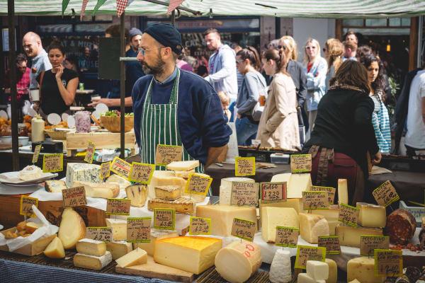 Boradway Market London **editorial**