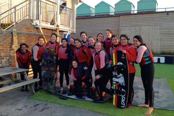Happy groups, watersports, hen, corporate groups