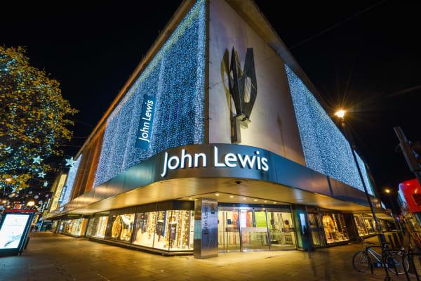 John Lewis Oxford Street **editorial**