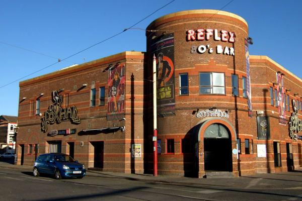 Reflex Blackpool - exterior