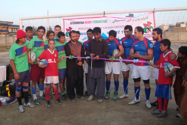 Afghanistan International Rugby Comes to UK