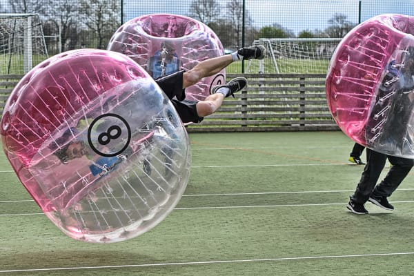 bubble football zorb