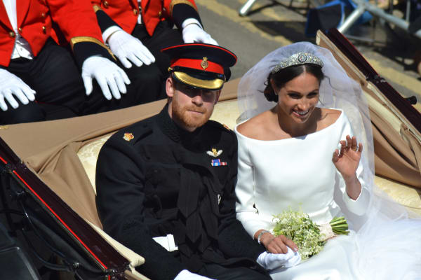 Prince Harry and Meghan's Markle's Royal Wedding - 2018
