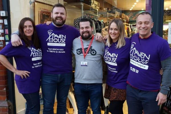 charity shop hustle group