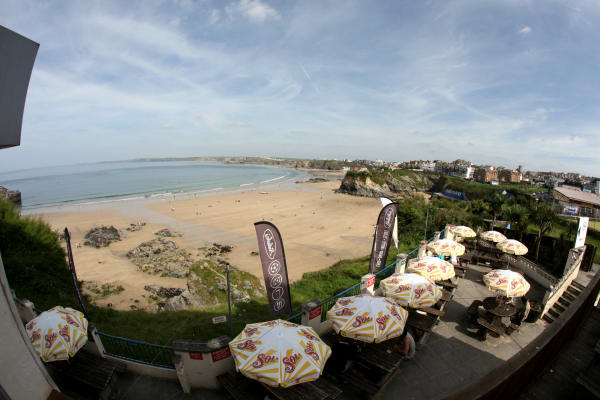 Belushis Newquay - Terrace area