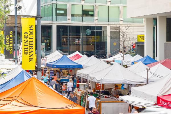 southbank centre market **editorial**