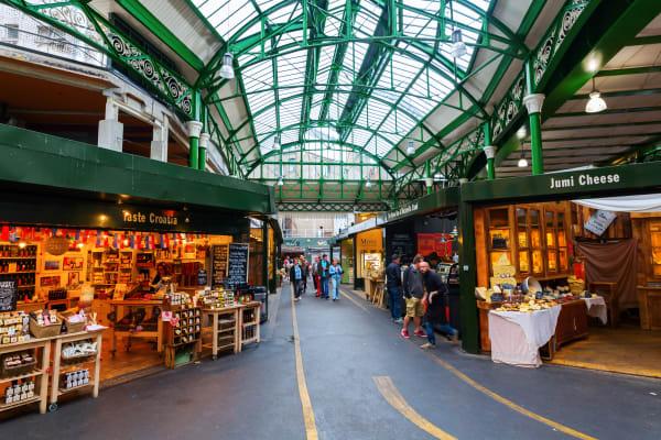 Borough Market London **editorial**