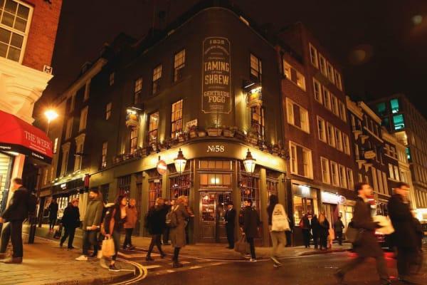 Mr Fogg Tavern - exterior