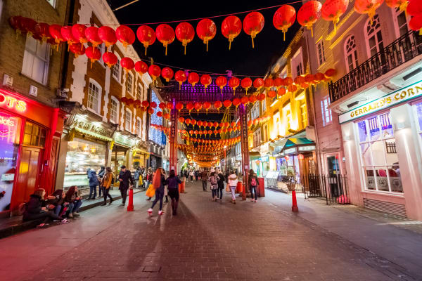 **editorial** China Town London