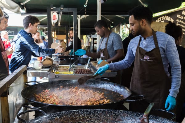 Borough Market Street Food Ethiopian Food CHILLISAUCE