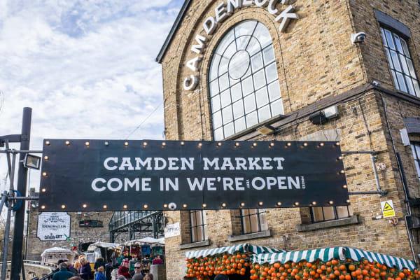 Camden Market **editorial**