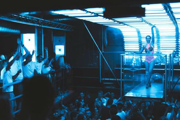 Karlovy Lazne Nightclub - interior