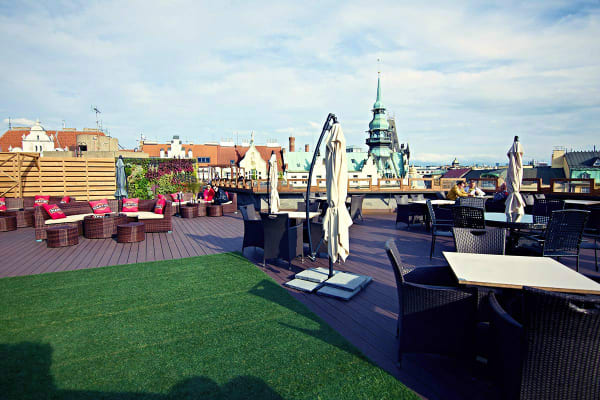 fashion club prague - rooftop