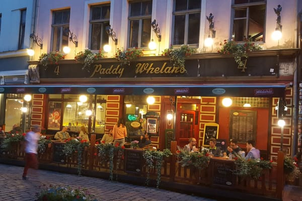 Paddy Whelan's Irish Pub & Sports Bar