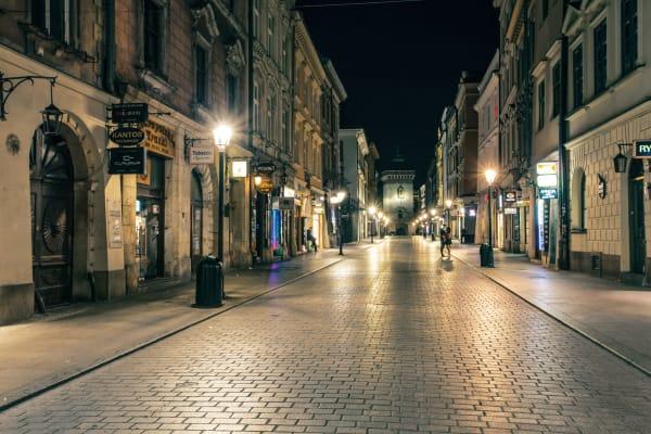 **editorial** Florianska Street Krakow