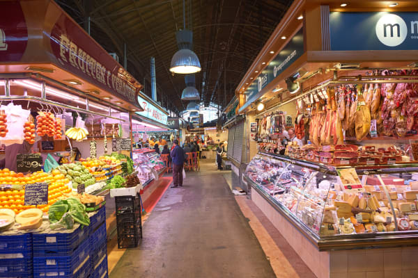 *EDITORIAL USE* inside La Boqueria in Barcelona