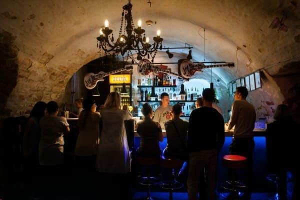 Rock cafe - bar area