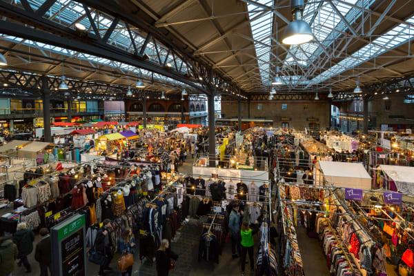 Old Spitalfields Market **editorial**