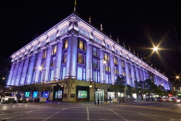 Selfridges London **editorial**