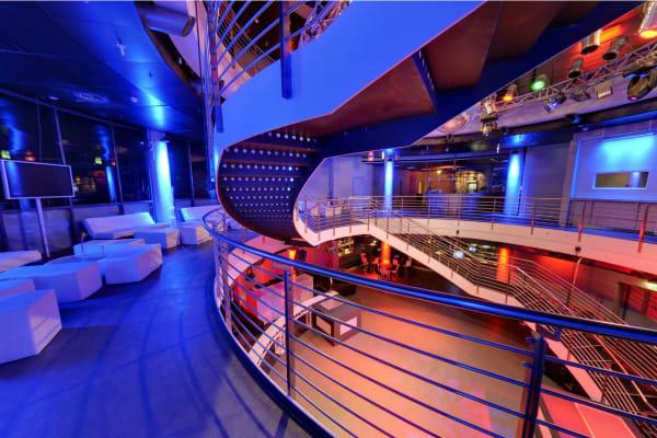 E4 Club Berlin - upstairs