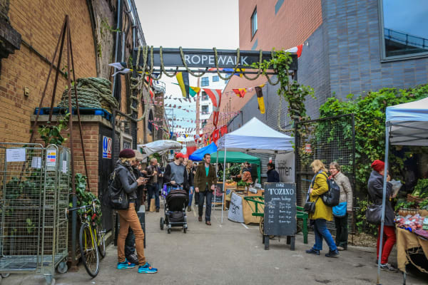 Maltby Street Market **editorial**
