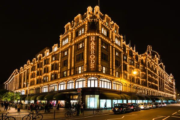 Harrods London **editorial**