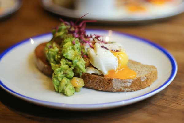 Avocado Toast Egg Brunch - Bay Horse Tavern - Manchester