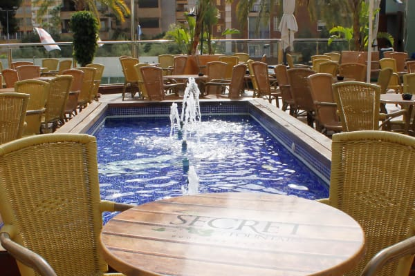 Secret Fountain Roof Bar Garden EDITORIAL